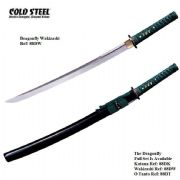 Dragonfly Wakizashi With Black High Gloss Scabbard (Saya)